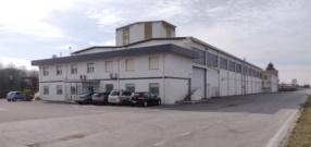 Vista esterna dello stabilimento